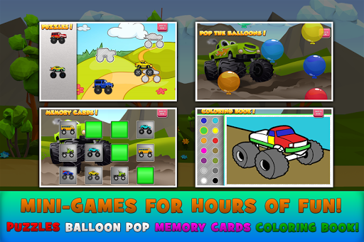 Monster Trucks Game for Kids 2 2.7.3 Screenshots 3