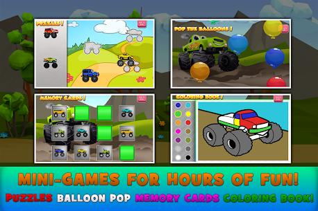 Monster Trucks Game for Kids 2 3