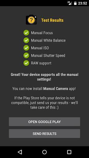 Manual Camera Compatibility 2.5 Screenshots 8