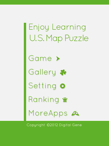 Enjoy Learning U.S. Map Puzzle 3.2.3 screenshots 10