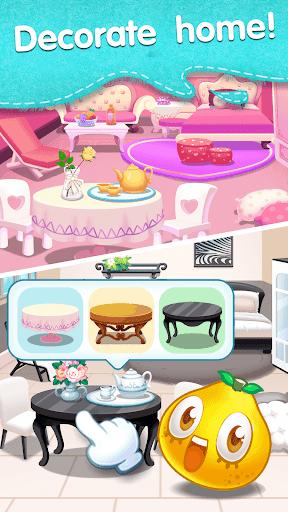 Fruit Splash Mania - Line Match 3 modiapk screenshots 1