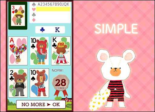 Card Playing the bears' school apkmr screenshots 1