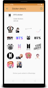 BTS Kpop WAStickerApps : For Pc | How To Use – Download Desktop And Web Version 2