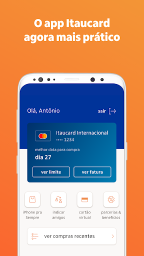 Itaucard: Cartu00e3o de cru00e9dito android2mod screenshots 3