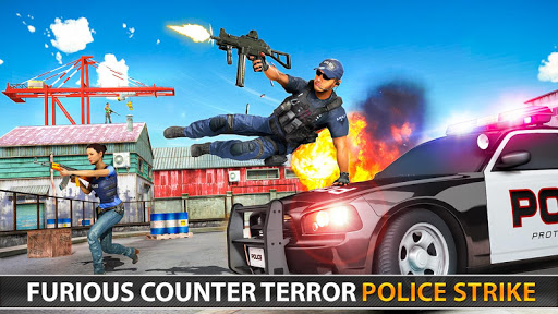 Police Counter Terrorist Shooting - FPS Strike War 6 screenshots 24