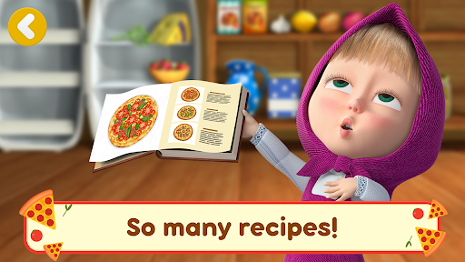 Masha and the Bear Pizzeria Game! Pizza Maker Game  screenshots 3