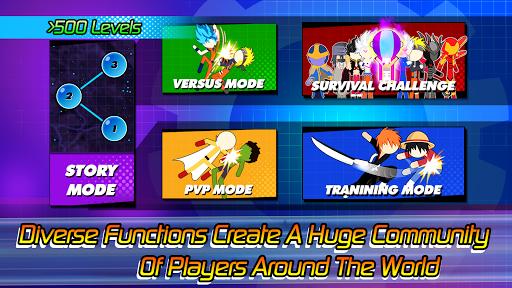 Super Stick Fight All-Star Hero: Chaos War Battle modavailable screenshots 5