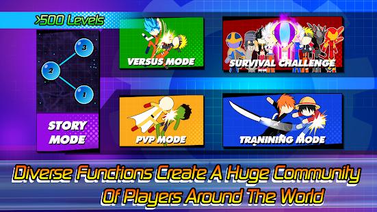 Super Stick Fight All-Star Hero: Chaos War Battle 2.0 Screenshots 5