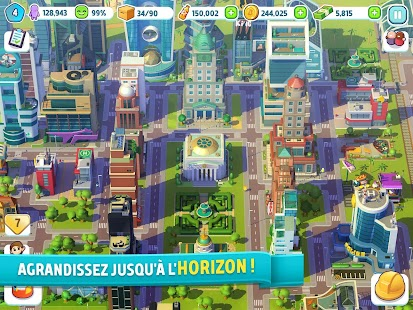 City Mania: Town Building Game Capture d'écran