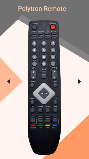 Remote for Polytron TV  screenshots 1