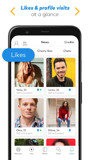 LOVOO - Free Chat & Dating App. Find love live now apktram screenshots 5