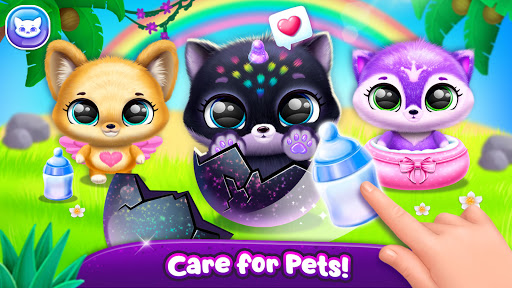 Fluvsies Pocket World - Pet Rescue & Care Story  screenshots 5