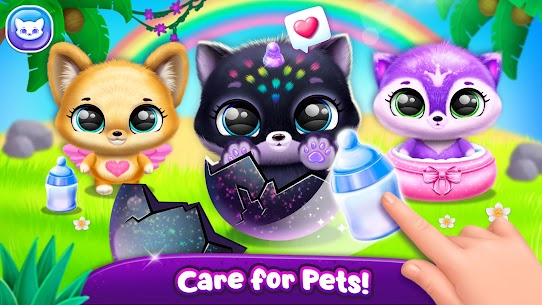 Fluvsies Pocket World – Pet Rescue & Care Story (MOD, Unlimited Money) For Android 5