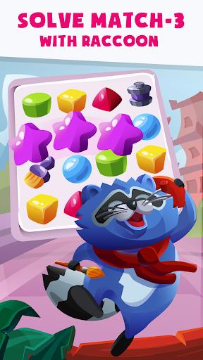 Raccoon Journey: Match-3 Puzzle Adventure 2020 2.3 screenshots 1