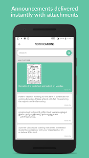 Kencil - School parent communication app Screenshot
