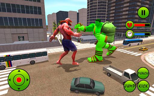 Incredible Monster Hero City Battle New Games 2021  screenshots 6