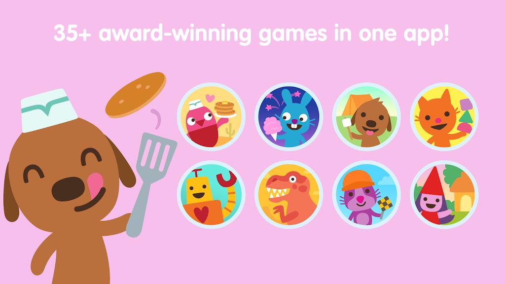 Sago Mini World: Kids Games  poster 2