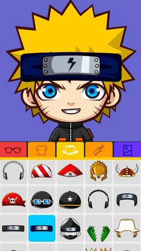 SuperMii - Cartoon Avatar Maker Apkfinish screenshots 9