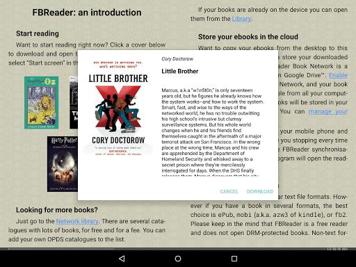 Foto do FBReader: Favorite Book Reader