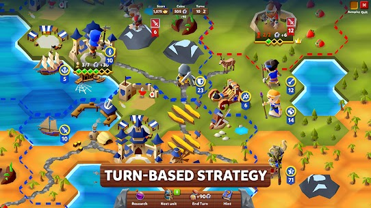 Hexapolis MOD APK: Turn Based Civilization (Unlocked) Download 2