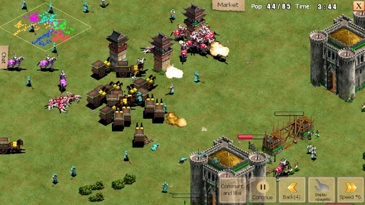 War of Empire Conquestuff1a3v3 Arena Game android2mod screenshots 5