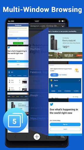 Web Browser - Fast, Private & News 1.6.3 screenshots 14