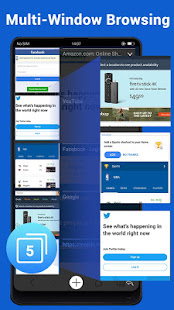 Web Browser - Fast, Private & News screenshots 4