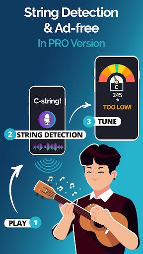 Ukulele Tuner Pocket - The Ukelele Tuner App android2mod screenshots 4
