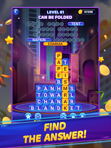 Word Vegas - Free Puzzle Game to Big Win apkpoly screenshots 20