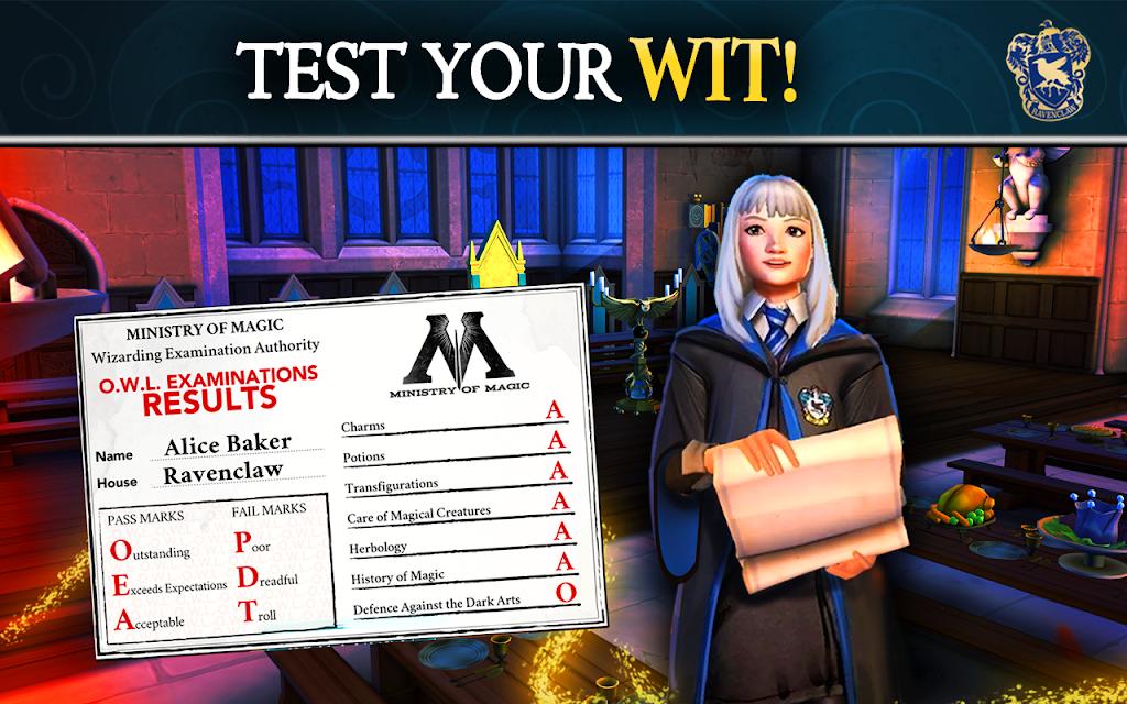 Harry Potter: Hogwarts Mystery poster 1