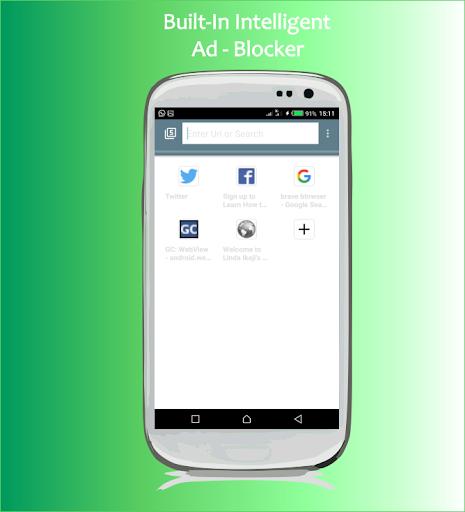 Web Explorer: Fast privacy browser 4.2.7 Screenshots 1