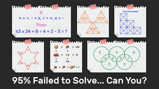 Brain Math: Puzzle Games, Riddles & Math games 2.5 screenshots 2
