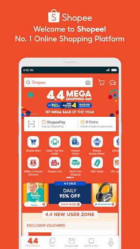 Download ShopeeMY 4.4 Mega Shopping Day 2.68.11 1