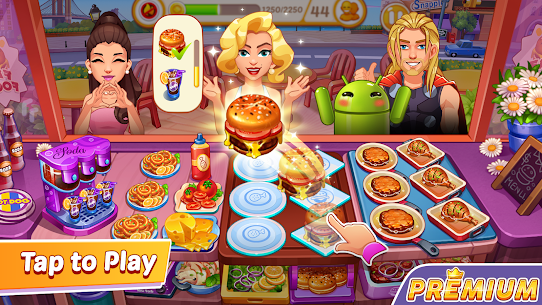 Cooking Speedy Premium: Fever Chef Cooking Games 4