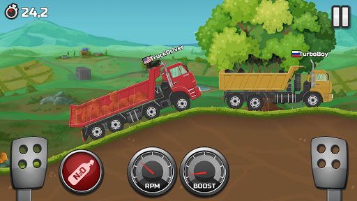Truck Racing - Offroad hill climbing 1.9.3 screenshots 2