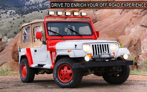 Offroad Jeep Driving Simulator: 4x4 Offroad Racing  screenshots 5