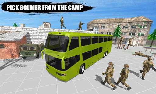 Offroad New Army Bus Game 2019 1.6 screenshots 8