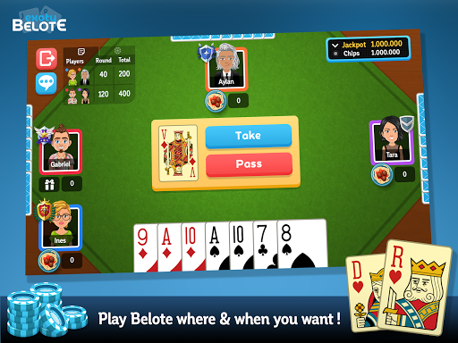 Multiplayer Belote & Coinche 6.9.4 screenshots 7