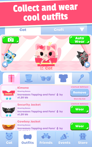 Greedy Cats: Kitty Clicker 1.4.0 screenshots 8