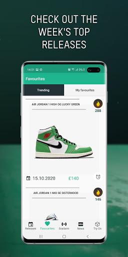 Grailify - Sneaker Release Calendar  Screenshots 6