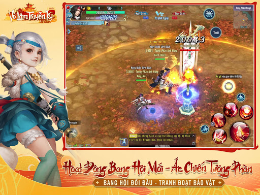 Vu00f5 Lu00e2m Truyu1ec1n Ku1ef3 Mobile - VNG 1.16.1 screenshots 13