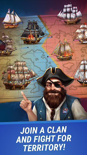 Pirates & Puzzles - PVP Pirate Battles & Match 3 Apkfinish screenshots 5
