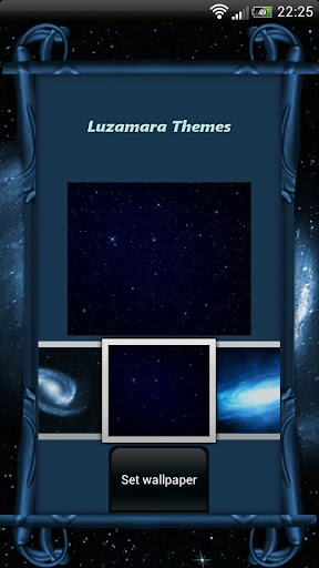 Blue Galaxy GO Launcher Theme For PC Windows (7, 8, 10, 10X) & Mac Computer Image Number- 9