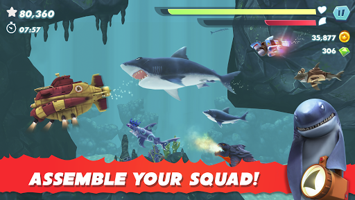 Hungry Shark Evolution - Offline survival game  screenshots 7