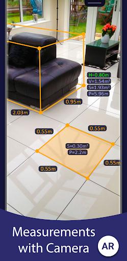 AR Ruler App u2013 Tape Measure & Camera To Plan 1.6.8 screenshots 1