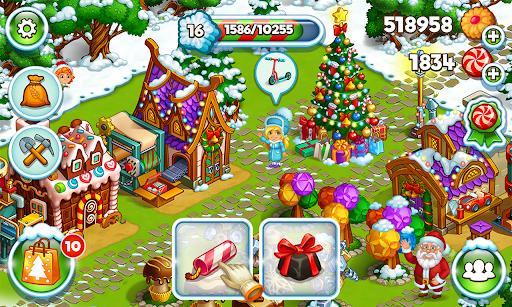 Farm Snow: Happy Christmas Story With Toys & Santa screenshots 6