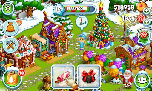 Farm Snow Happy Christmas Story With Toys & Santa 1.74 MOD APK  Download 6