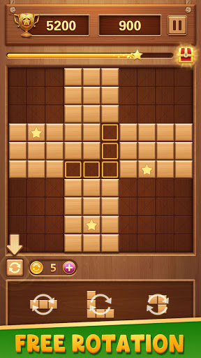 Wood Block Puzzle - Free Classic Brain Puzzle Game screenshots 10