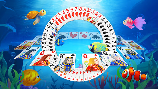 Solitaire Fish - Classic Klondike Card Game  screenshots 3