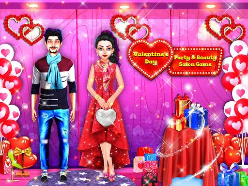 Valentineu2019s Day Party Planning & Beauty Salon Game Apk 1.5 screenshots 4